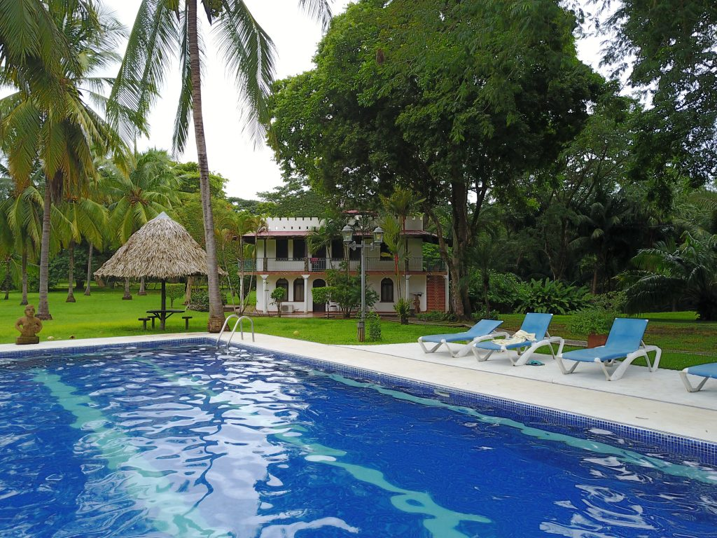 Hotelpool in Sámara, Guanacaste