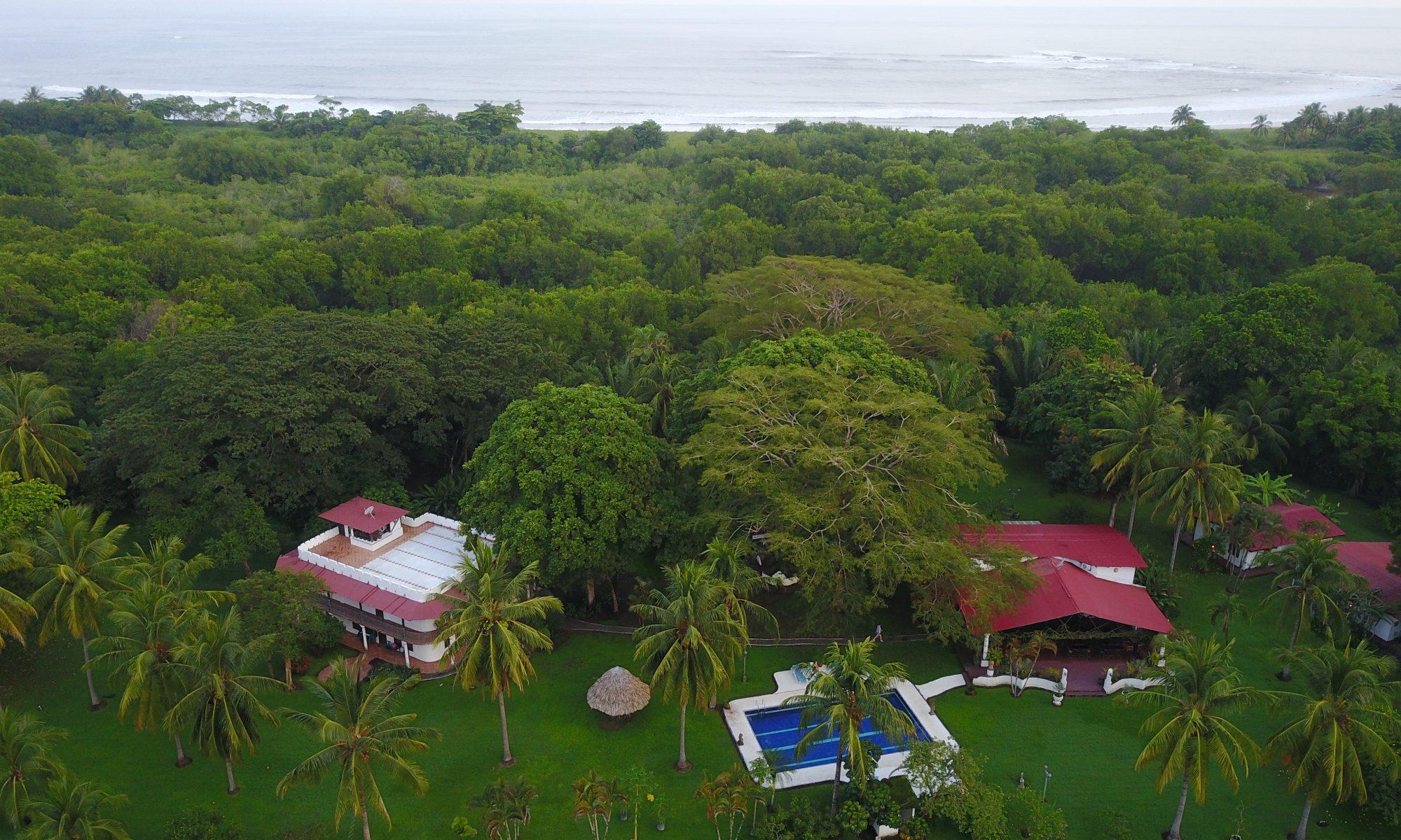Vue sur l'hotel Paraiso del Cocodrilo