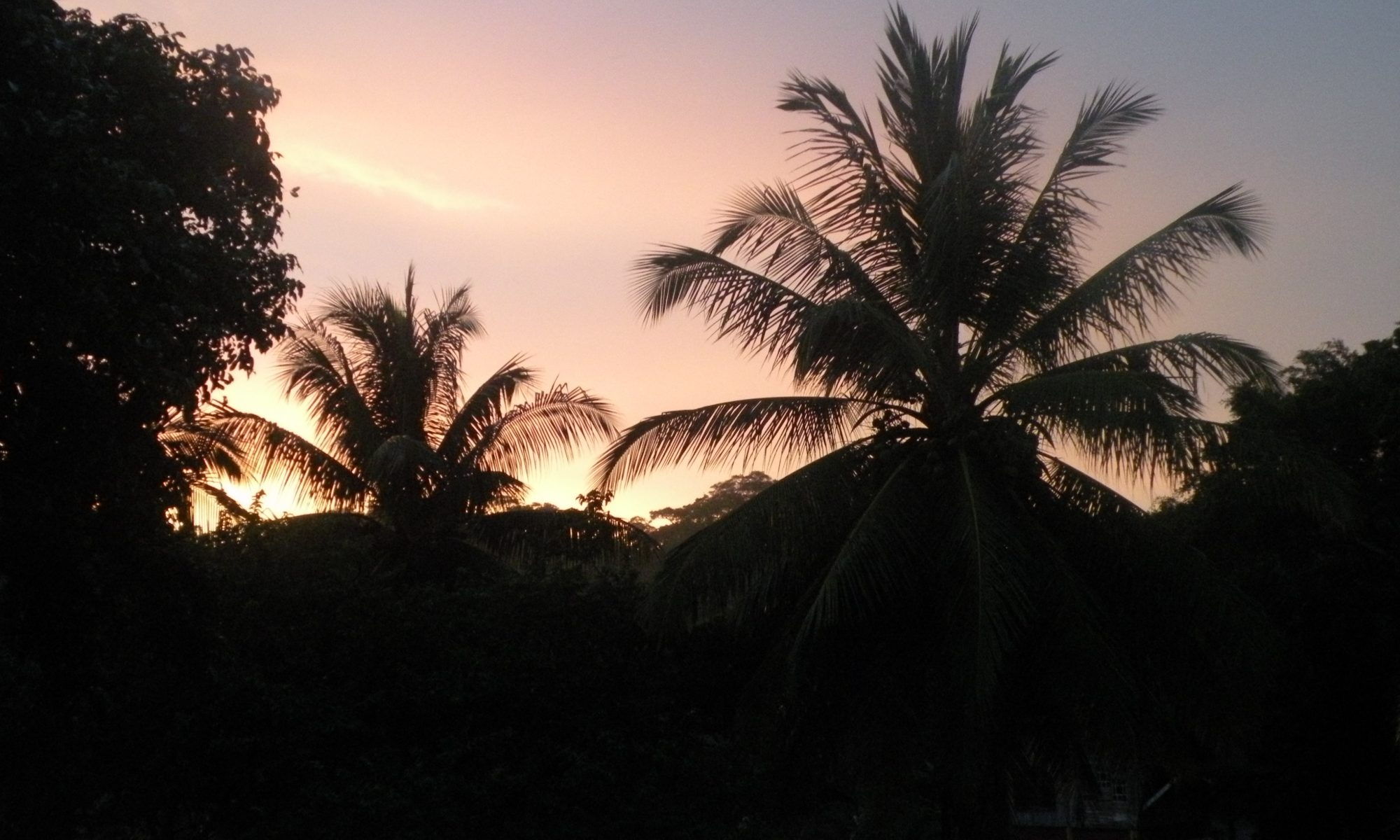 Beautiful sunsets at Paraiso del Cocodrilo