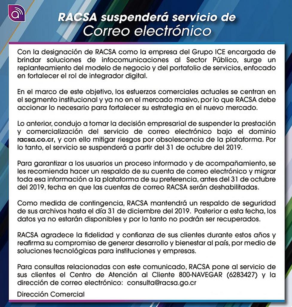 Racsa Costa Rica